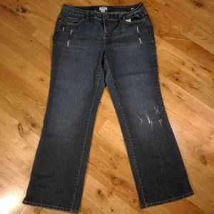 Cato Woman Distressed Jeans